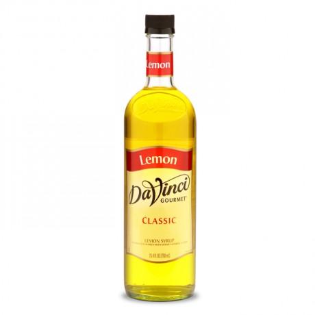 DaVinci Lemonade Syrup 750ml - hương chanh