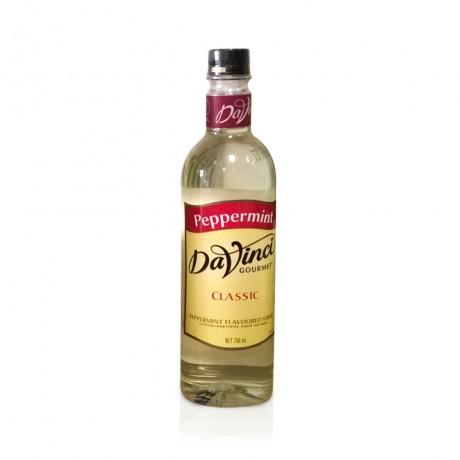 DaVinci Peppermint Syrup 750ml - hương vị bạc hà cay