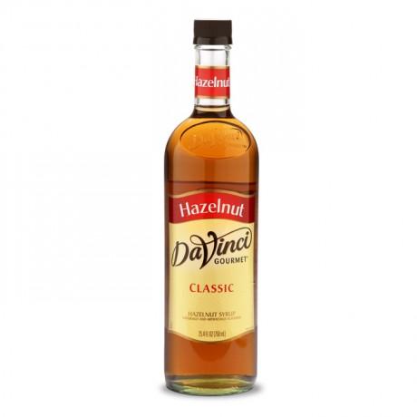 DaVinci Toasted Hazelnut 750 ml - hương vị quả phỉ rang