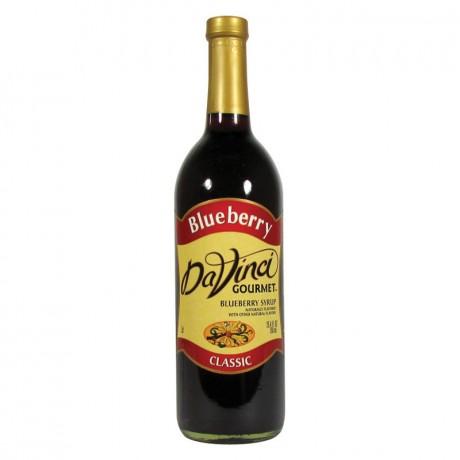 DaVinci BlueBerry Syrup 750ml - hương việt quất