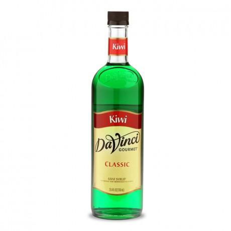 DaVinci Kiwi Syrup 750ml - hương vị kiwi