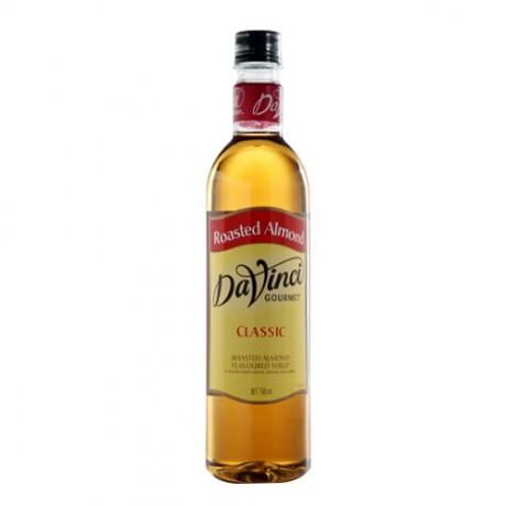 DaVinci Roasted Almond 750ml - hương vị quả hạnh nướng