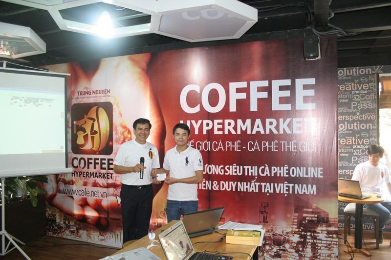 khai trương đại siêu thị cà phê