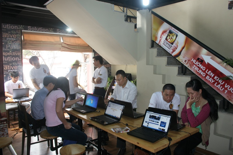 khai trương cafe.net.vn