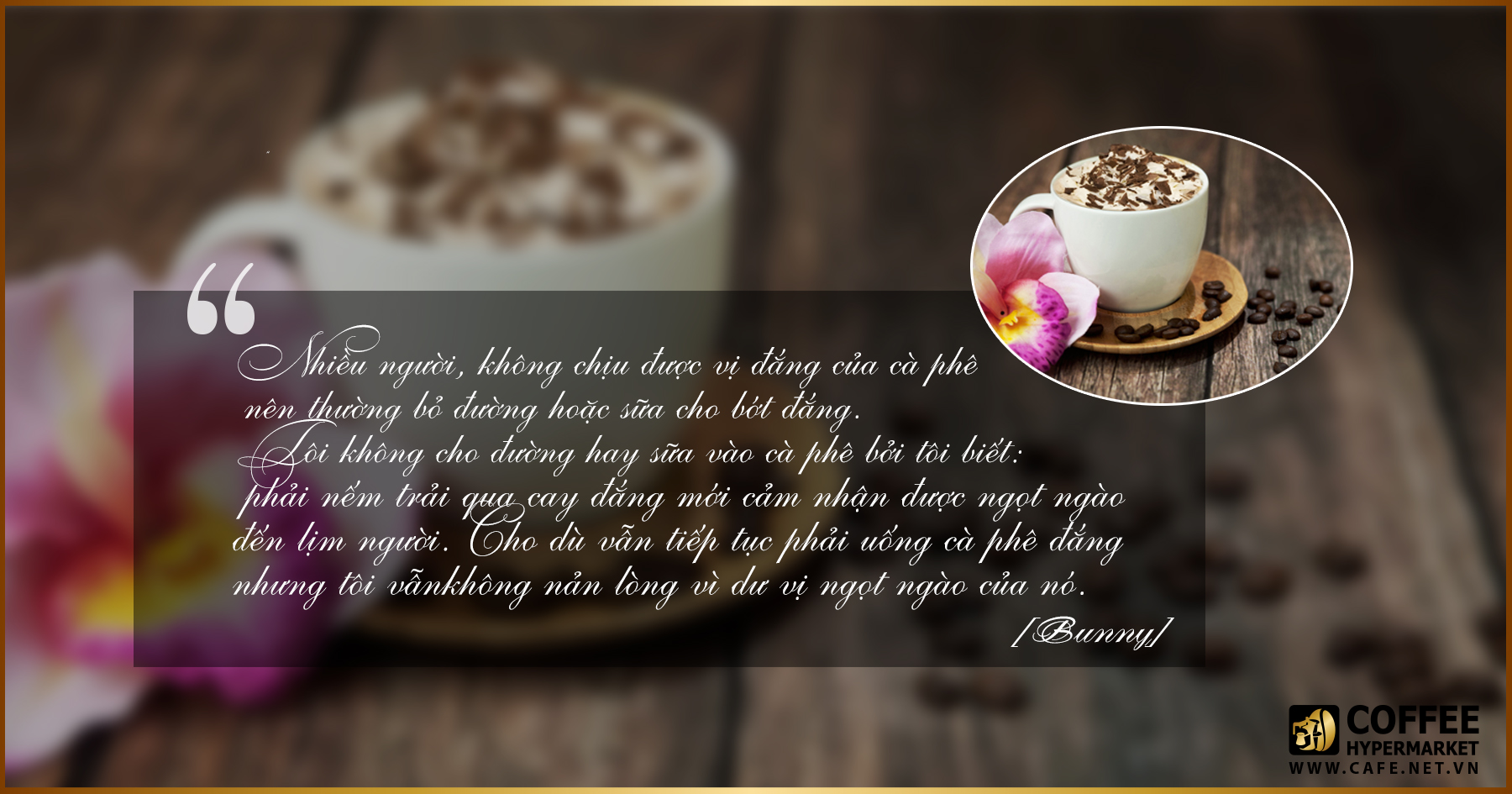 danh ngôn cà phê