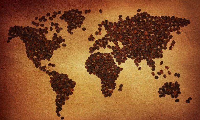 bản đồ cà phê
